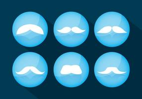 Schnurrbart-Vektoren vektor