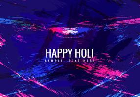 Free Colorful Holi Vektor Hintergrund