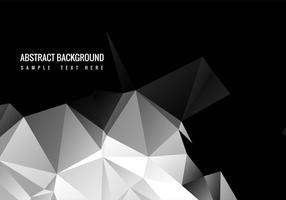 Free Black Polygon Vektor Hintergrund