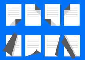 Free Flat Page Flip Vektor
