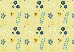 Freier Blumenmuster-Vektor