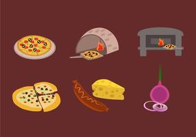 Göra Pizza Vector