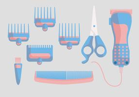 Haarschneider Vektor