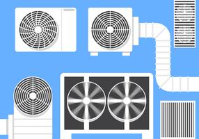 Kostenlose HVAC Vektor