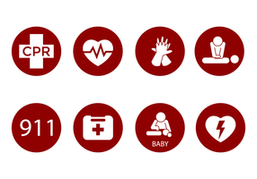 Kostenlose CPR Icon Vektor
