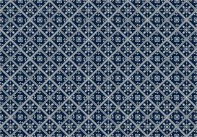 Free Batik Pattern Vector # 10
