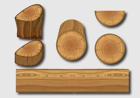 Holzstämme Vektoren