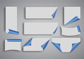 Free Blue Paper Vektor