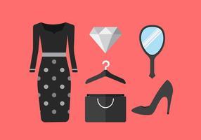 Vektor Mode Mädchen