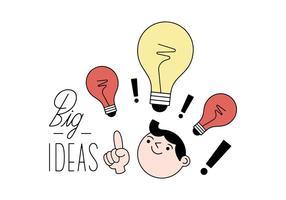 Kostenlose Ideen Vektor