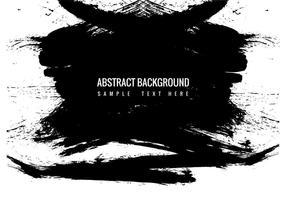 Gratis Vector Black Grunge Paint Sreaks