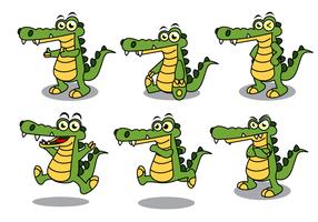 Free Gator Maskottchen Vektor