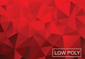Niedriger Poly-Vektor-Hintergrund