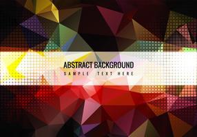 Free Colorful Vector Polygon Hintergrund