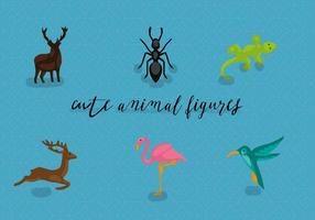 Kostenlose Tiere Vektor-Illustration vektor