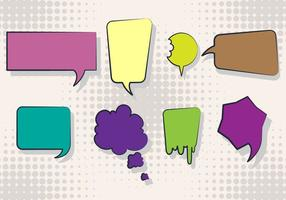 Gratis Imessage Vector Set