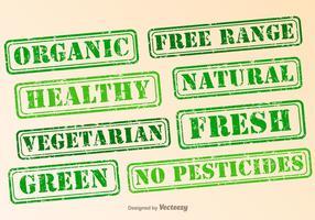 Vector Eco Green Rubber Briefmarkensammlung