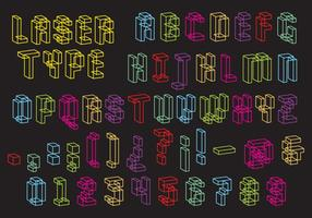 Lasertyp Vektor