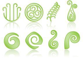 Koru Logo Vektoren