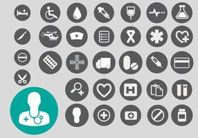Gratis medicinsk ikonvektor