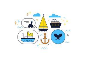 Freier Meer-Vektor