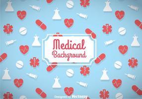 Medicinsk Blå Bakgrund vektor