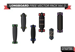Longboard kostenlos vektor pack vol. 3