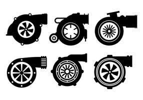 Turbo-Ladegerät Vektor