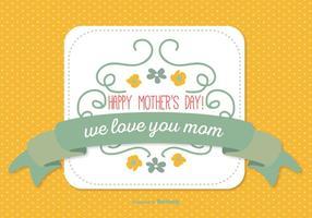 Nette Muttertag Illustration