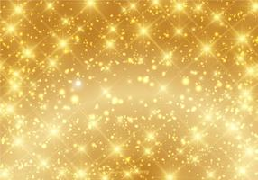 Vacker Guld Sparkle Bakgrund Vector
