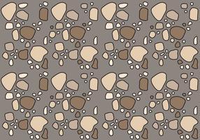 Freies Steinpfad Muster # 2 vektor