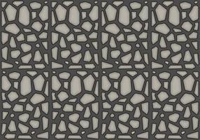 Freies Steinpfad Muster # 1 vektor