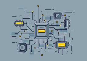 Free Microchip Vektor