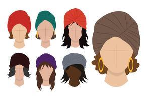 Ladies Turban Vektor