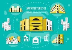 Freie Architektur Vektor Hintergrund