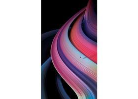 abstrakter Gradientenregenbogenstreifenhintergrund vektor