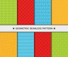 geometrisches nahtloses Musterset