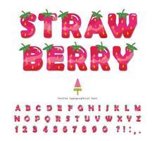 Erdbeersommerschrift