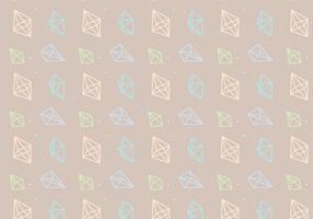 Umrissgeometrisches Muster