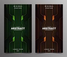 lyx abstrakt tech minimal täcker design