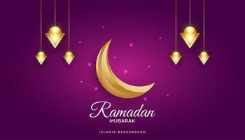 prächtiger Ramadan Hintergrund