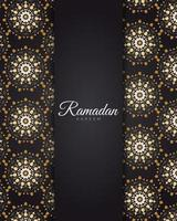 goldener Mandala Ramadan