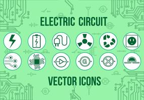 Gratis elektriska vektorikoner