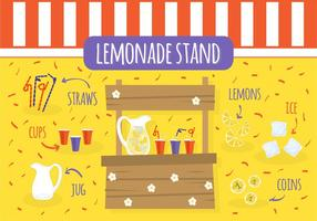 Free Lemonade Stand Vektor