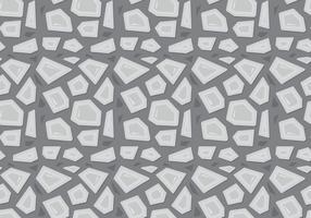 Freies Steinpfad Muster vektor