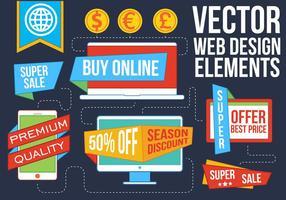 Free Vector Webdesign Elemente