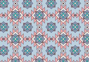 Etnisk geometrisk mönster