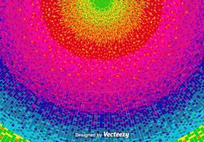Vektor Pixelated Rainbow Bakgrund