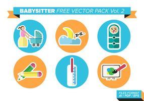 Babysitter kostenlos vektor pack vol. 2