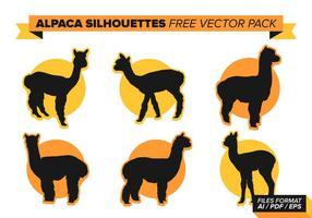 Alpaca fri vektor pack